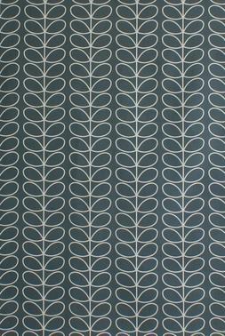 Design Orla Kiely Lineare Attacco Manubrio Freddo Grigio Cot