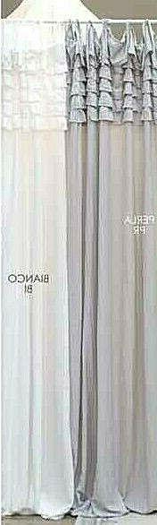 TENDA TENDINA PORTAFINESTRA BLANC MARICLO' 65X300cm.
