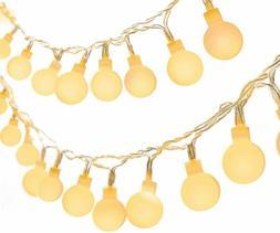 Luci LED Della Stringa Palla a Batteria, Catena Luminosa Ten