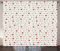 San Valentino Tenda Cuori su linee Art