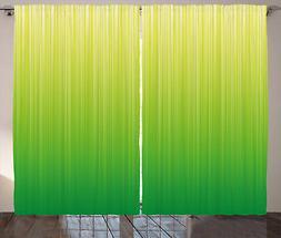 Verde lime Tenda Striped Futuristico